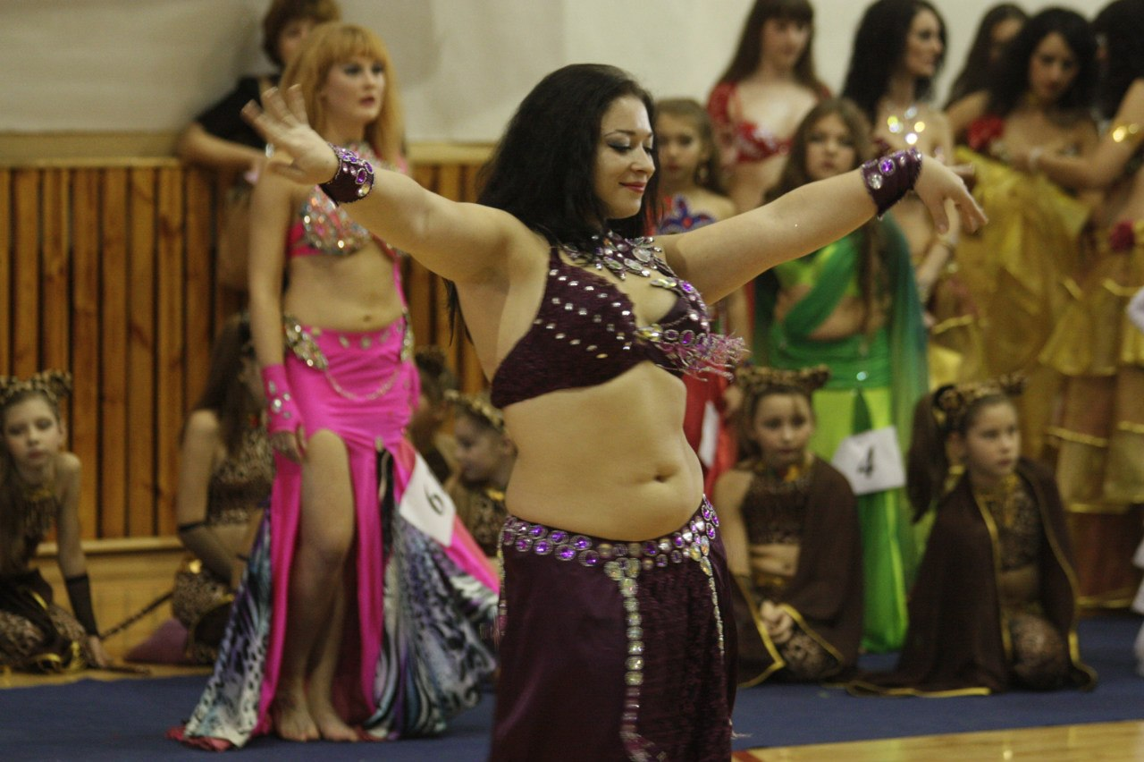 Восточными танцы завершилось в Тамбове первенство ЦФО по танцевальному спорту