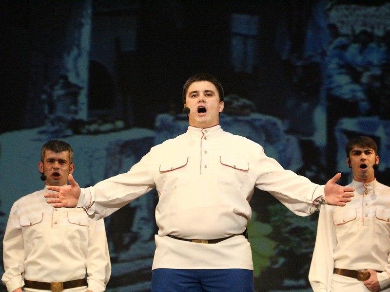 """Юбилейный концерт ансамбля """"Ивушка"""" в Тамбове"""