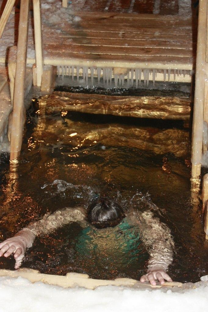 Массовые купания на Крещение в Тамбове