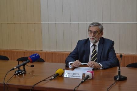 Уполномоченный по защите прав предпринимателей в Тамбовской области Михаил Козельев