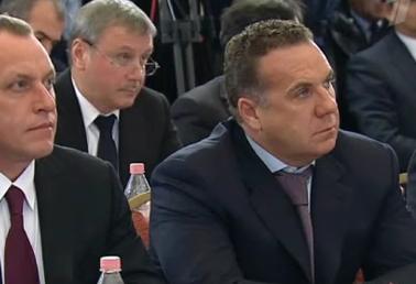 Александр Бобров выслушал напутсвие Владимира Путина