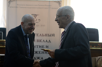"""Лев Протасов - """"Персона года- 2013"""" в ТГУ им. Державина"""