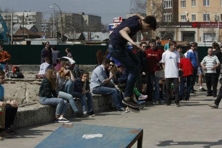 соревнования по скейтбордингу