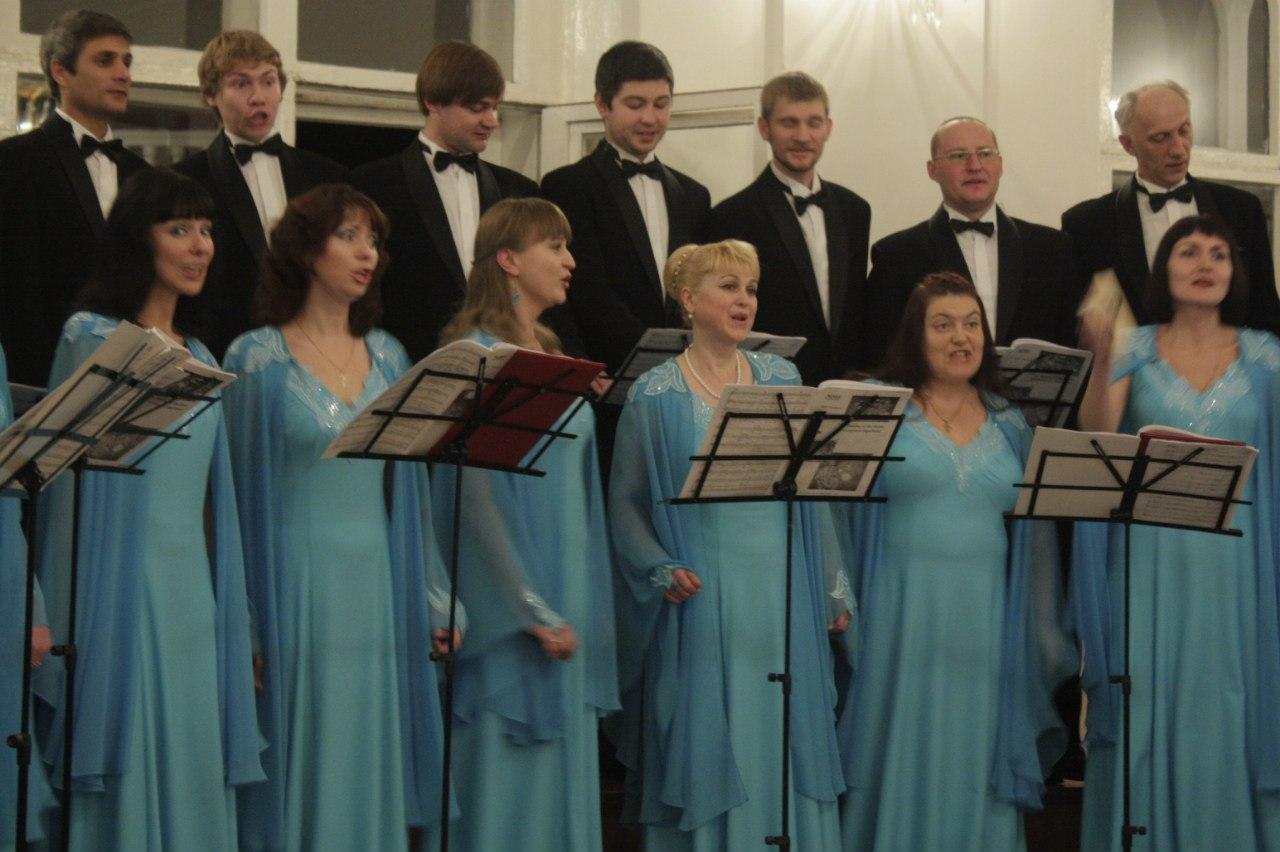 Камерный хор имени Рахманинова отметил своё 20-летие