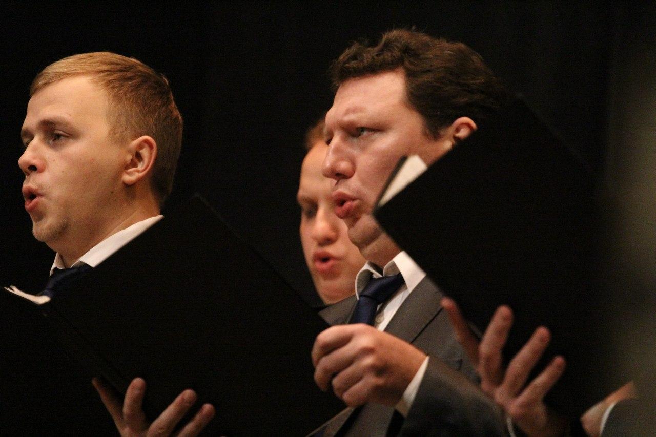 В Тамбове состоялся концерт Московского хора Сретенского монастыря