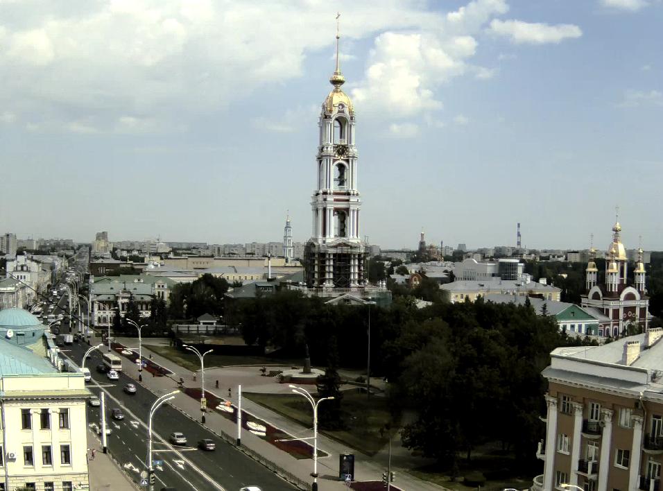В Тамбове в режиме онлайн ведут трансляцию 7 веб-камер