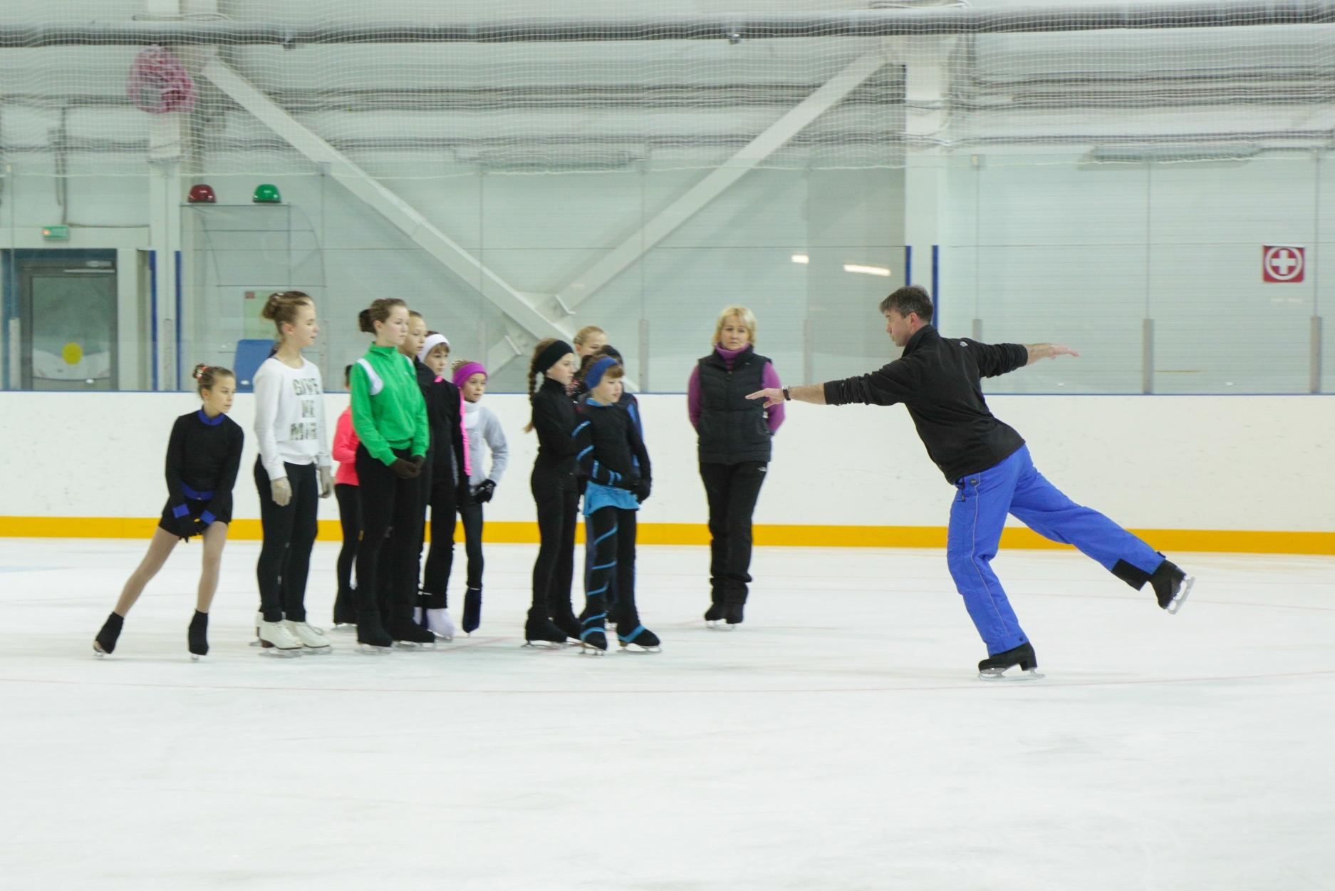 Тамбовские фигуристы побывали на мастер-классе Олимпийского чемпиона в Сочи
