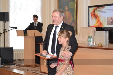 В Тамбове наградили лучших спортсменов по итогам 2014 года