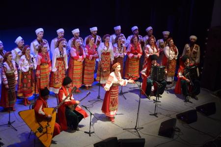 Тамбовчане увидели и услышали звёздный состав Кубанского казачьего хора
