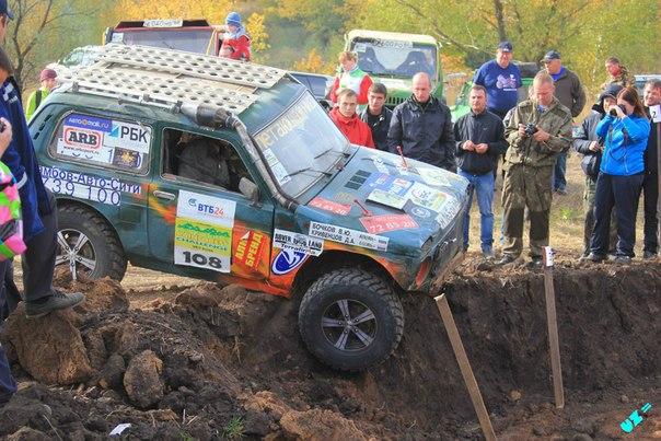 В минувшие выходные завершился второй этап Кубка Тамбовской области по джип-триалу