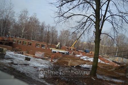 Строительство православной гимназии и детского сада в тамбовском парке 40-летия Победы будет продолжено