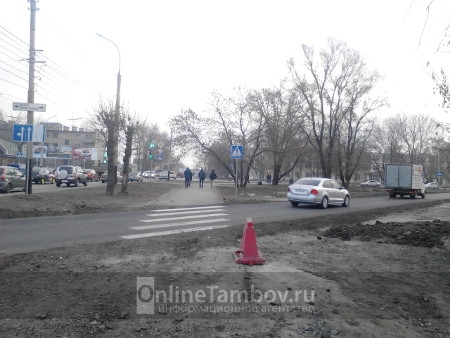 В Тамбове открыли движение по новой транспортной развязке
