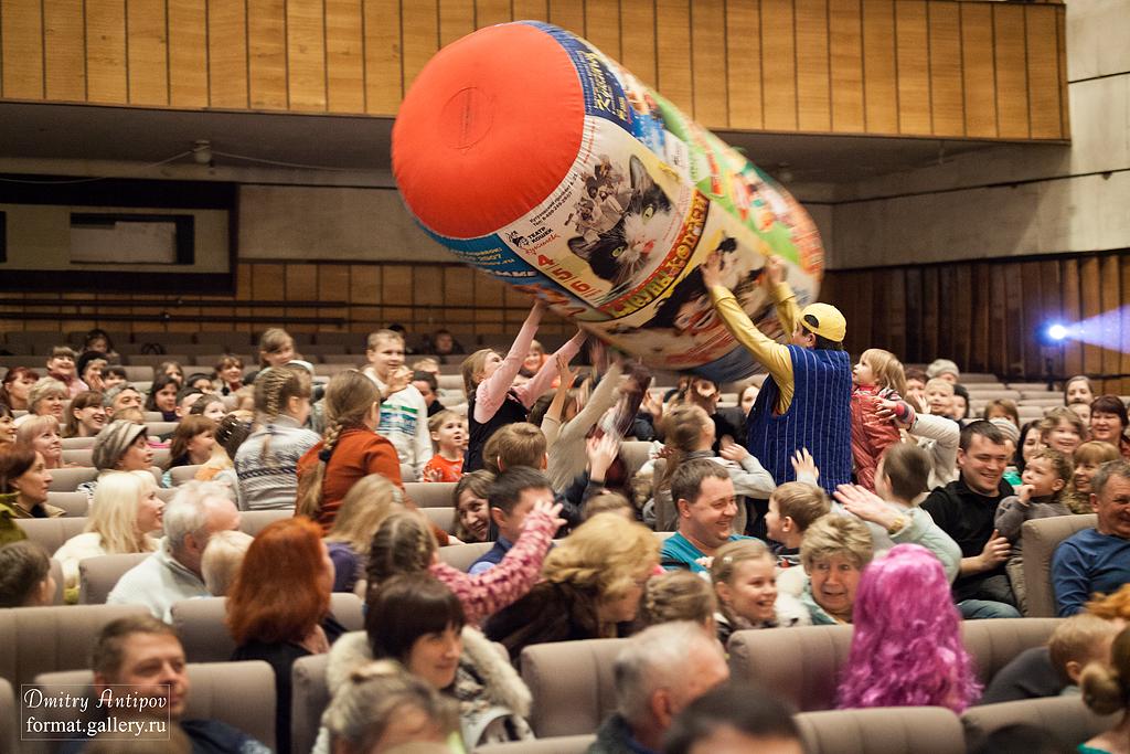 Звезда рекламных роликов кот Борис выступил в Тамбове в составе театра кошек Дмитрия Куклачев