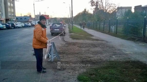 На территории областной больницы в Тамбове появится новая парковка