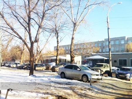 На улице Бориса Васильева в Тамбове планируют за счет зеленой зоны увеличить парковку