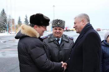 Год начался с визита министра внутренних дел РФ генерал-полковника полиции Владимира Колокольцева