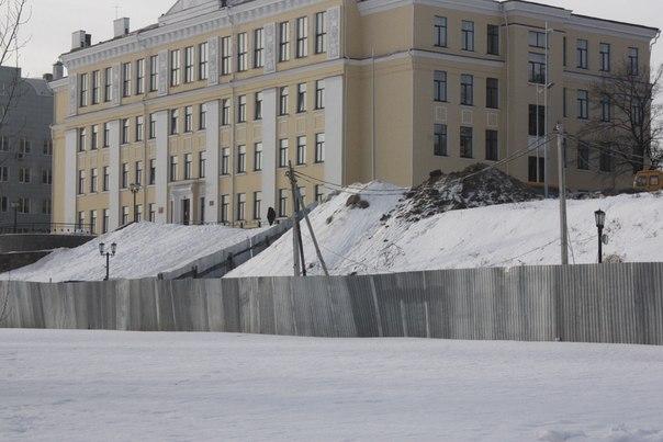 В парке культуры Тамбова хотят построить ещё один торговый центр