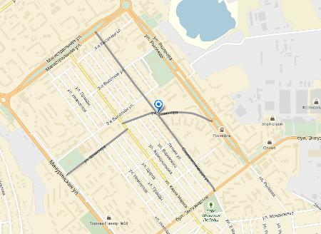В Тамбове на одном из перекрестков главная дорога стала второстепенной