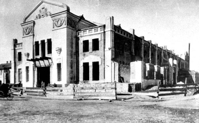 Народный дом, построенного на месте тамбовской филармонии в 1910 году