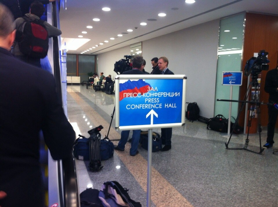 """Спецкорр """"Онлайн Тамбов.ру"""" в Москве участвует в десятой пресс-конференции Владимира Путина"""