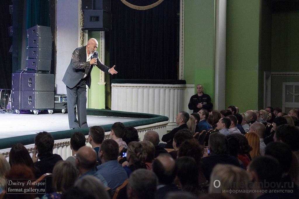 Александр Розенбаум в Тамбове сказал пронзительные слова о войне, блокадном Ленинграде и ситуации на Украине