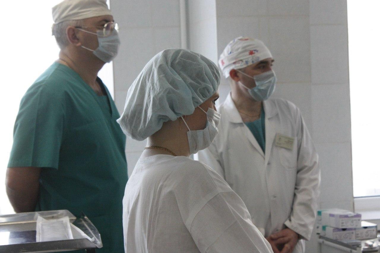 Главный онколог страны провел в Тамбове мастер-класс по хирургическому лечению злокачественных опухолей