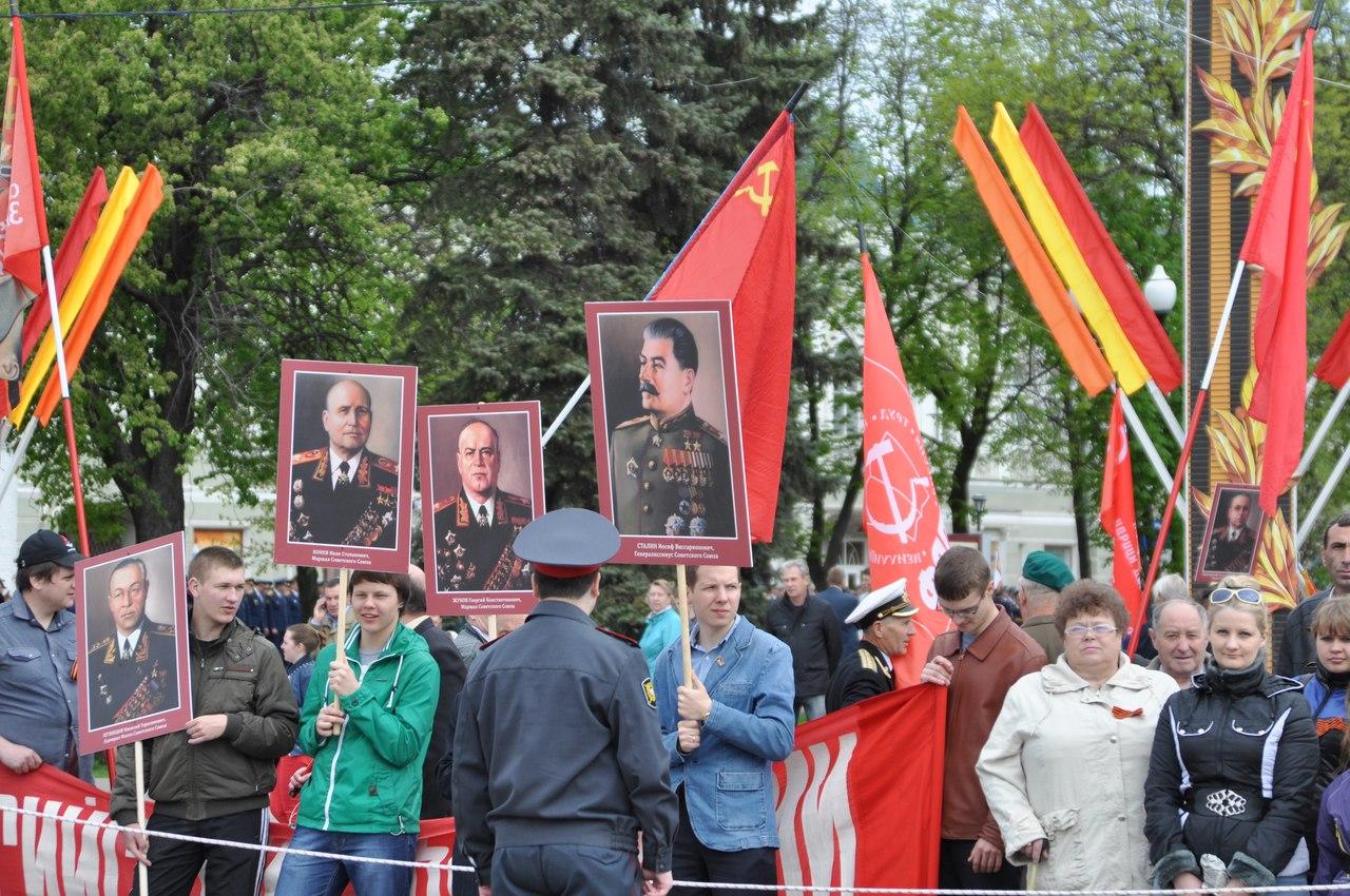 Парад Победы в Тамбове