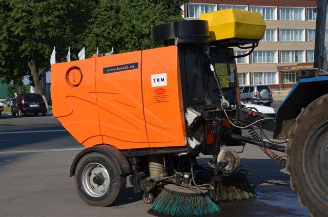 В Рассказове улицы будет убирать пылесос