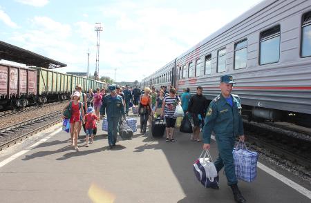 Тамбовская область приняла очередную группу вынужденных переселенцев из Украины