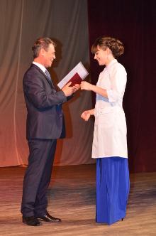 В ТГУ имени Державина прошел второй в истории выпуск студентов- медиков.