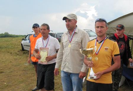 Спортсмены из Тамбовской, Московской, Пензенской и Рязанской областей разыграли медали в рыбной ловле