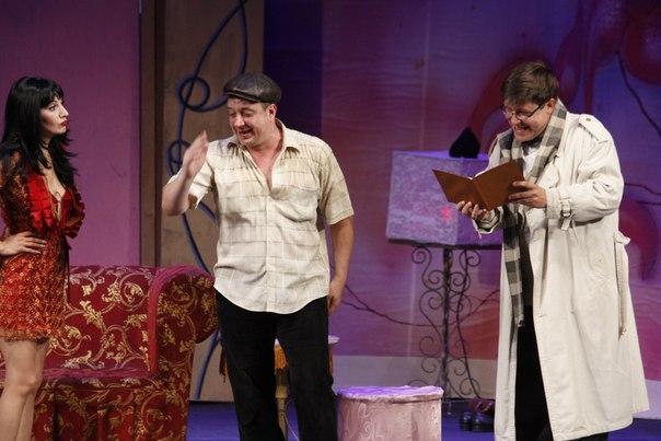 В Тамбове с гастролями выступает Донской театр