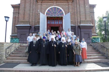 Тамбов посетила группа паломников из США, Новой Зеландии и Австралии