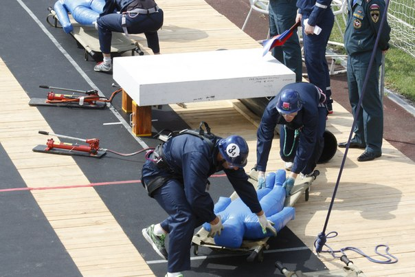 В Тамбове прошел первый день открытого первенства Центрального регионального центра МЧС России по спасательному спорту