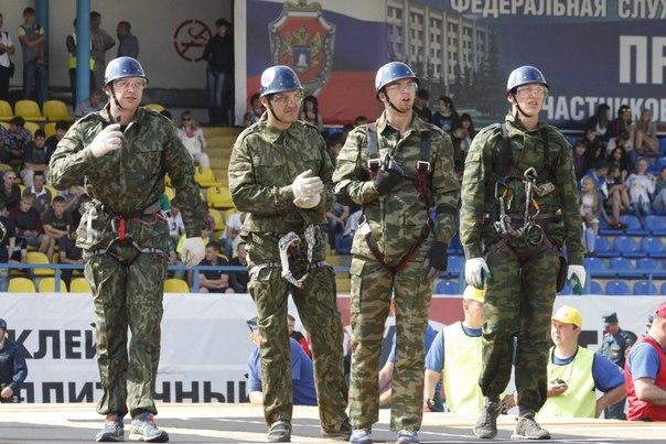 Лучшие спасатели ЦФО соревновались в профессиональном мастерстве в Тамбове