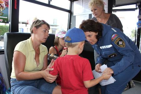 В тамбовском пункте временного размещения поселили новую группу вынужденных переселенцев из Украины
