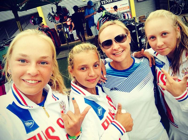 Тамбовчанка Олеся Первушина - победительница командного кубка по теннису ITF World Junior