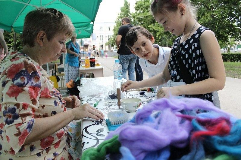 """24 мая в городском парке культуры и отдыха прошла благотворительная акция """"Доброе сердце""""."""