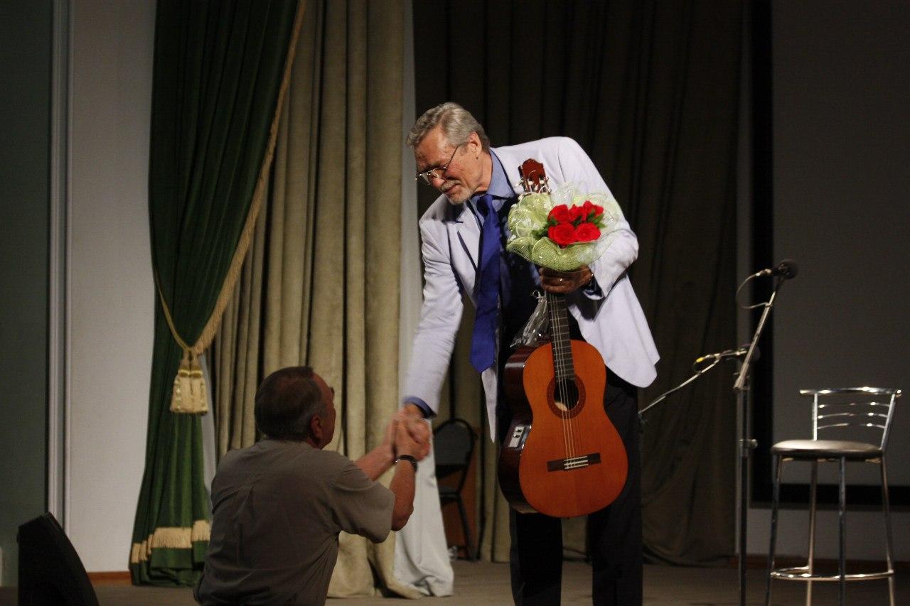 Творческий вечер актера Александра Михайлова в Тамбове