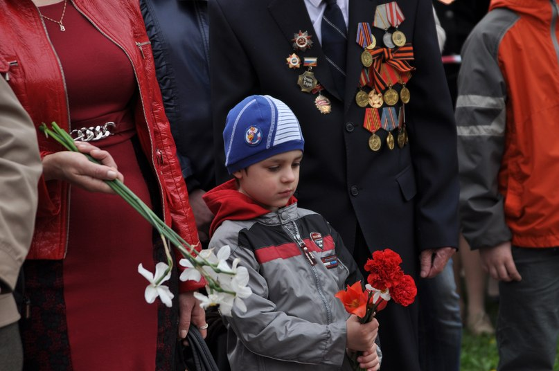 """В день Победы у """"Вечного огня"""" в Тамбове состоялся торжественный митинг"""