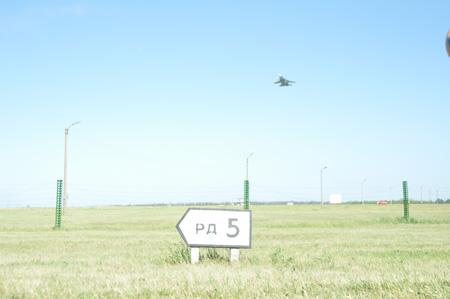 """На военном аэродроме """"Тамбов"""" состоялся авиационный праждник"""
