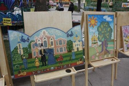 В городском Парке культуры и отдыха в рамках городского фестиваля цветов прошел конкурс на лучшую выставку-продажу цветочной растительности