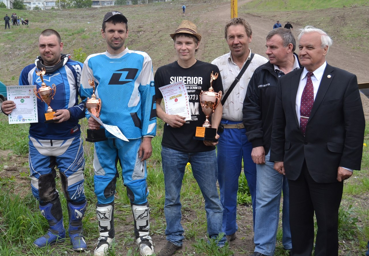 Лучшие мотоспортсмены Тамбовской области померились силами на трассе горнолыжного комплекса в Ласках