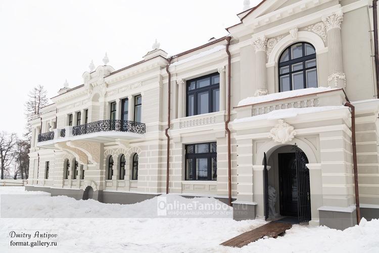 Отреставрированный особюняк Асеева в Рассказово частично утратил свой первоначальный облик
