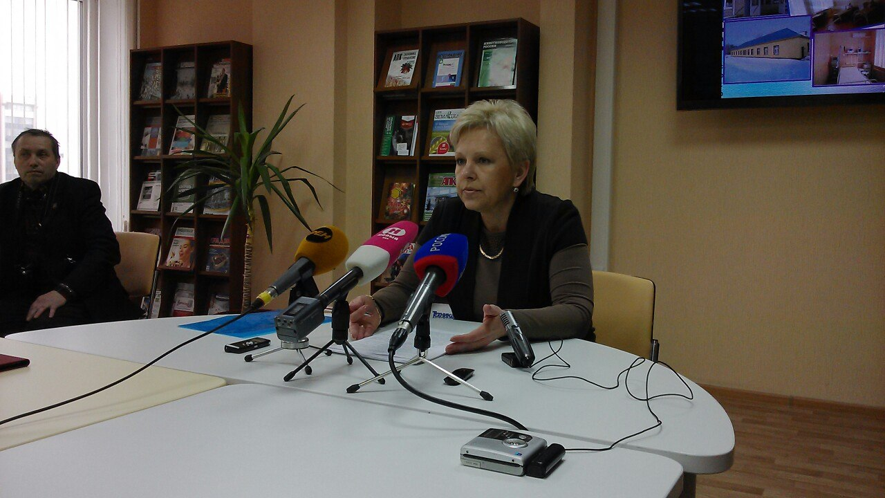 начальник Управления здравоохранения Тамбовской области Марина Лапочкина
