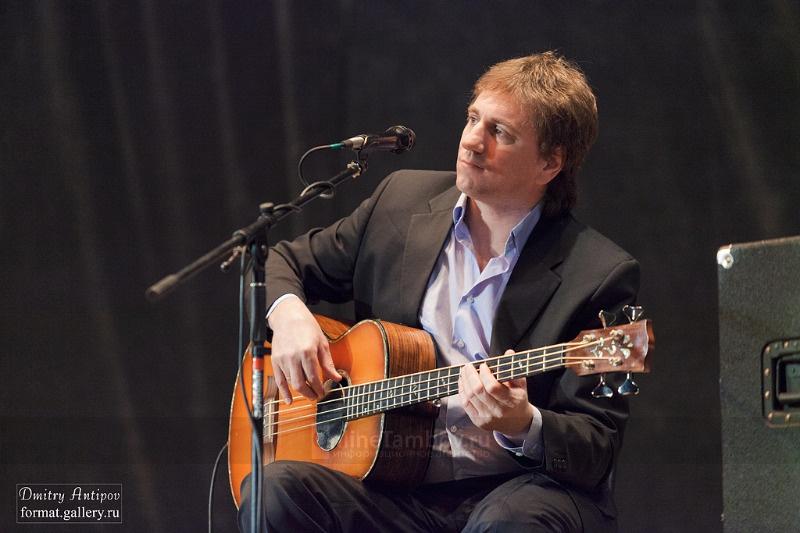 Олег Митяев выступил с концертом в Тамбове