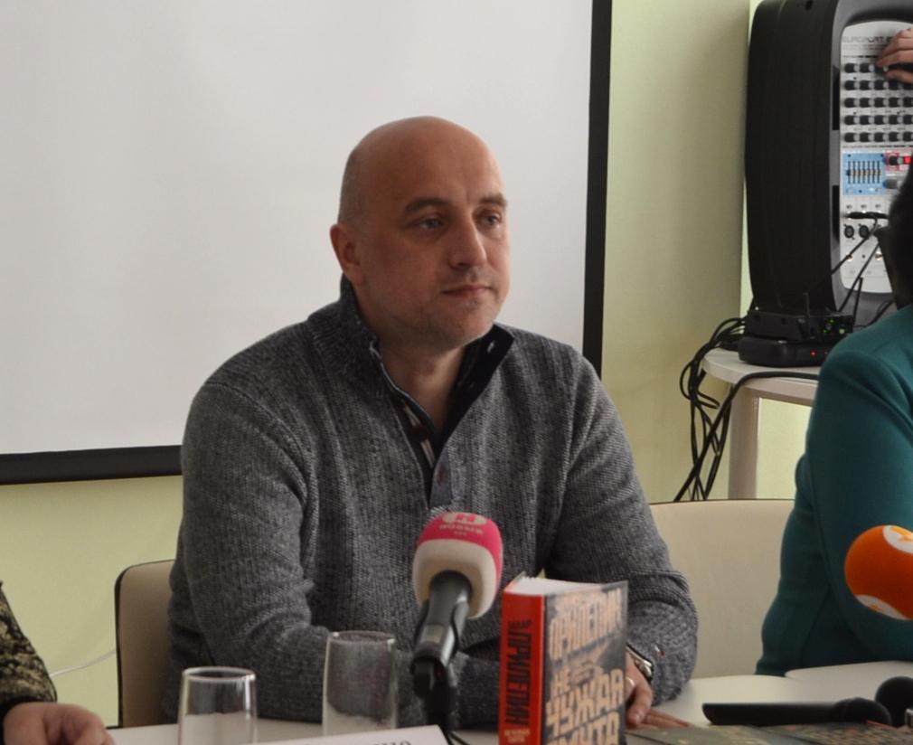 """Захар Прилепин в Тамбове: """"Я испытываю полную ответственность за всё, что происходит с моей страной"""""""