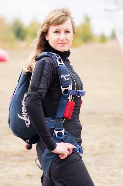 Алёна Налитова рекордсменка Черноземья 2013-2014 по парашютному спорту