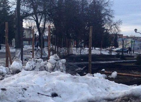 """В Рассказово приступили к строительству мемориального комплекса с """"Вечным огнем"""""""