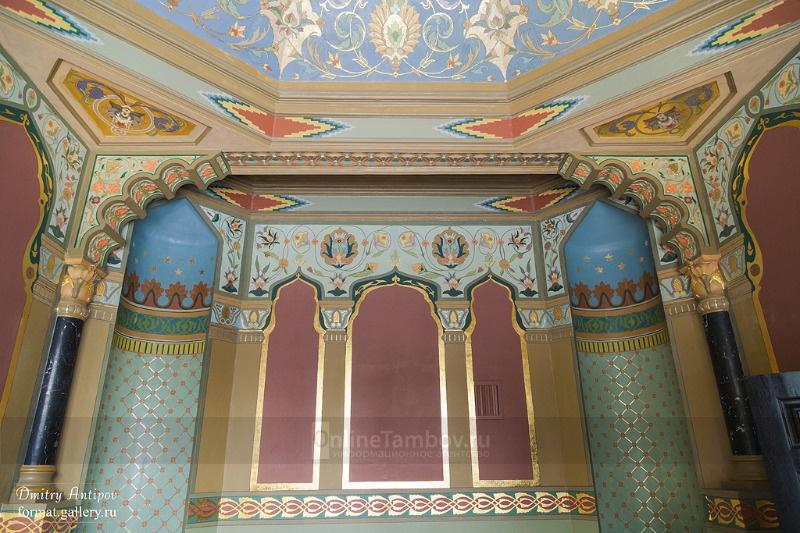 Отреставрированный дворец Асеева в Рассказово частично утратил свой первоначальный облик